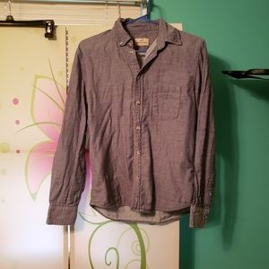 Marine layer size small denim button down shirt
